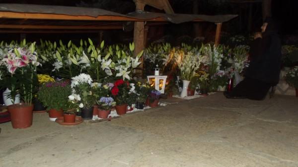 Mormântul părintelui Arsenie Boca / Foto: Bogdan Stanciu