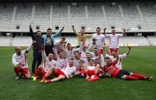 Bizonii Recea Cristur s-au impus cu 2-0 în finala Cupei României,   zona Gherla,   în faţa formaţiei Înfrăţirea Livada / Foto: Dan Bodea