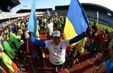 Ilie Roșu a alergat la Cluj cel de-al 105-lea maraton din viață / Foto:  arhivă personală