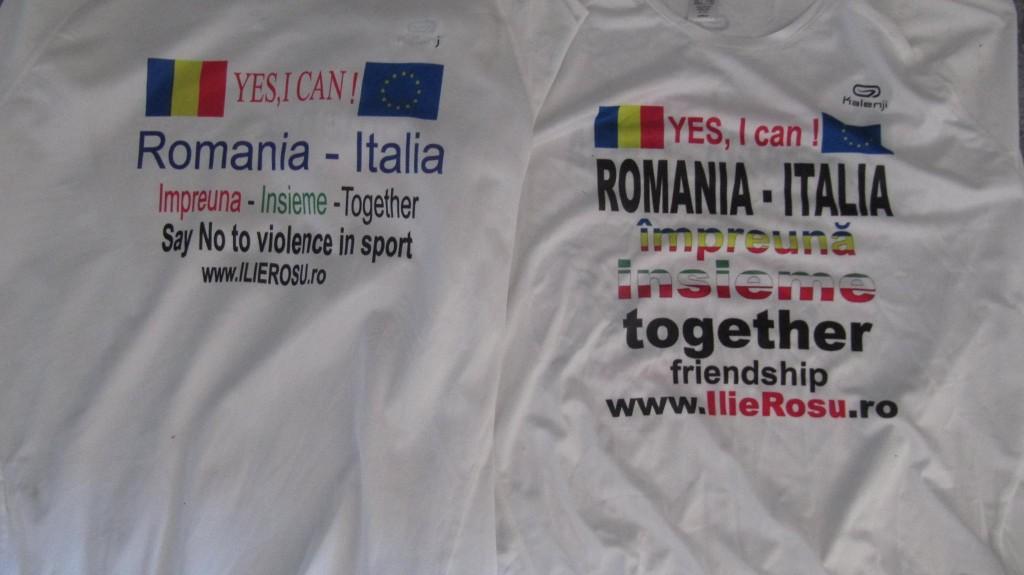 Tricouri cu mesaj/ Foto: arhiva personală