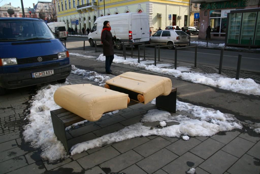 Saltele aruncate pe Bulevardul Eroilor / Foto: Dan Bodea