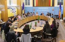 """25 de profesori străini vizitează Clujul în cadrul proiectului şcolar Comenius """"My town – my little homeland"""""""