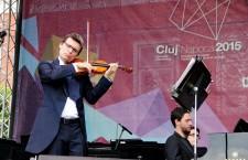 Alexandru Tomescu a susţinut un recital din opera muzicianului George Enescu în cadrul Yilelor Clujului / Foto: Dan Bodea