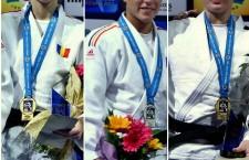 Monica Ungureanu,   Andreea Chițu și Corina Căprioriu au adunat puncte importante în cursa de calificare la JO de la Rio de Janeiro 2016 / Foto: site oradejudo.ro