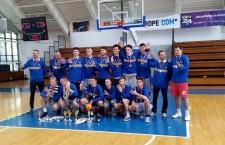 Echipa de baschet U20 a clubului U Mobitelco Cluj a cucerit titlul de campioană a României cu victorii pe linie / Foto: site u-mobitelco.ro