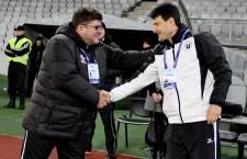 Cristian Pustai (stânga) și Adrian Falub sunt doi dintre tehnicienii din Liga 1 care au antrenat câte două echipe în acest sezon / Foto: Dan Bodea
