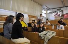 Studenții susțin că acțiunea lor se va desfășura pe o perioadă nedeterminată.