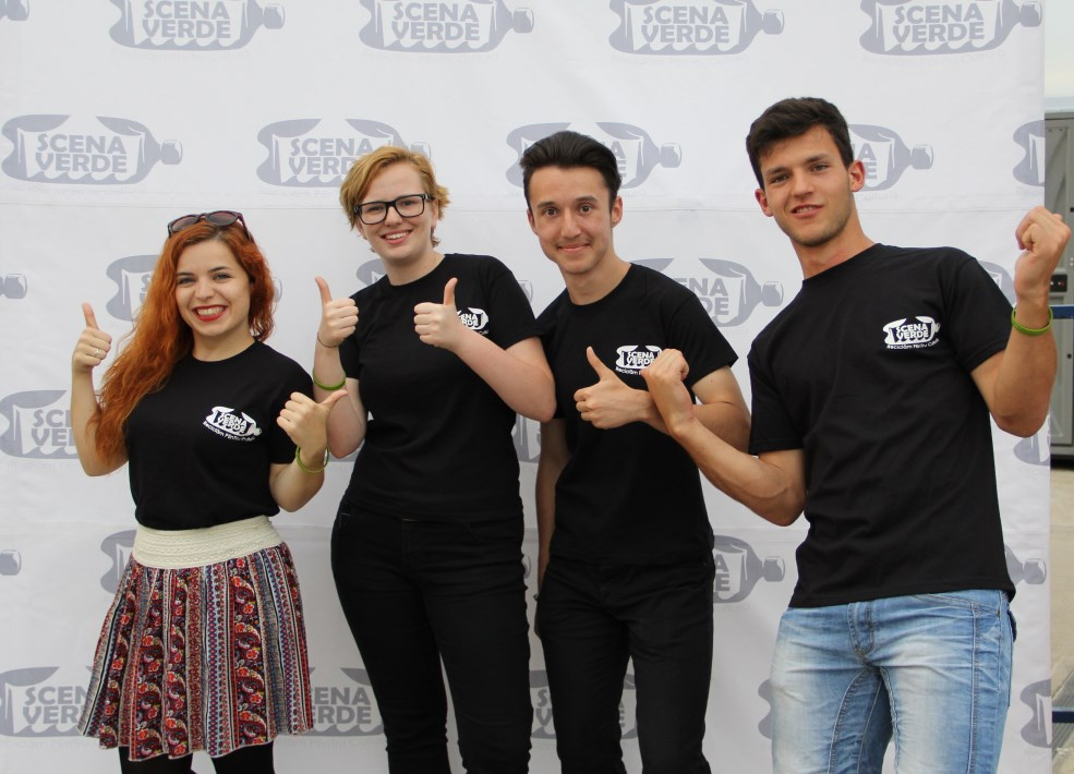 Voluntarii Scenei Verzi / Foto: Dan Bodea