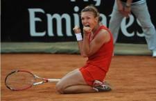 Simona Halep a câștigat serturl de finală 100% românesc de la Roma,   scor 6-1,   6-0,   cu Alexandra Dulgheru și este aproape de o nouă finală WTA