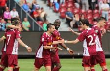 CFR Cluj și-a primit cele 24 de puncte înapoi și a urcat pe locul 3 în Liga 1 / Foto: Dan Bodea
