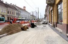 Lucrări strada Memorandumului,   Foto: Dan Bodea