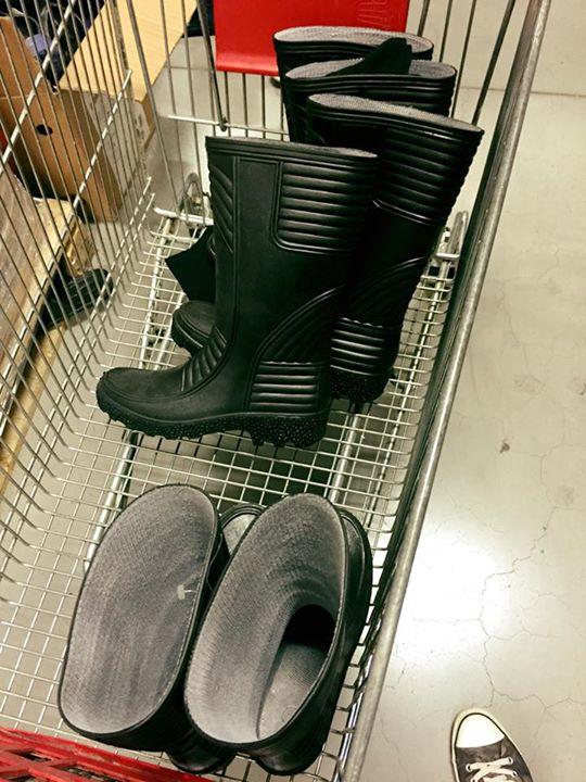 Ei au mai găsit cizme
