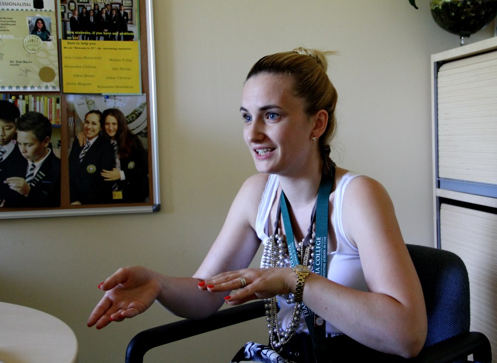 Ruxandra Mercea,   Director Executiv Transylvania College.