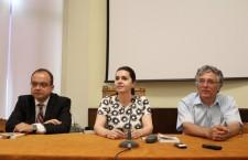 """Lansare de carte """"Cronică de Cotroceni"""", Valentin Naumescu, Adriana Săftoiu, Ilie Rad / Foto: Dan Bodea"""