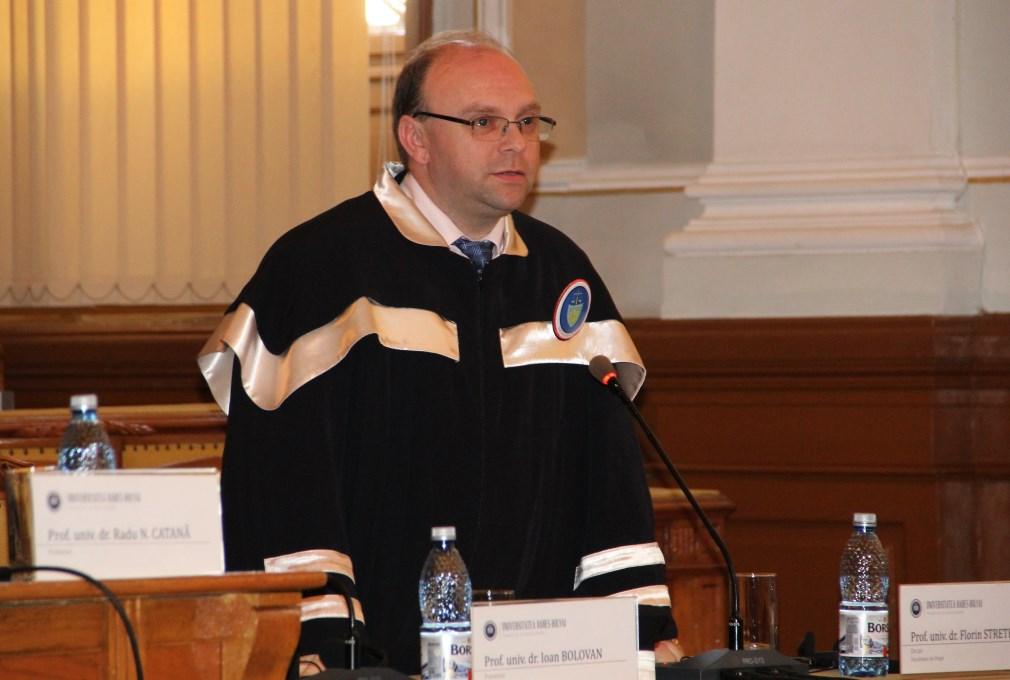 Prof.Univ.Dr. Florin Streteanu / Foto: Dan Bodea