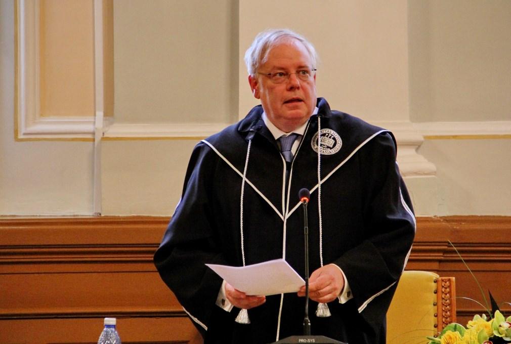 Președintele CEDO, Dean Spielmann / Foto: Dan Bodea