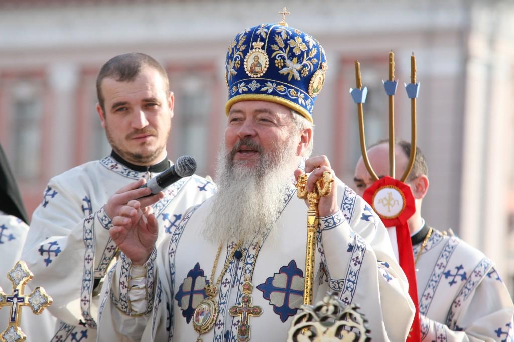 ÎPS Andrei Andreicuţ, Mitropolitul Clujului, Maramureșului și Sălajului / Foto: Dan Bodea