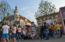 Protest impotriva premierului Victor Ponta / Foto: Maria Man