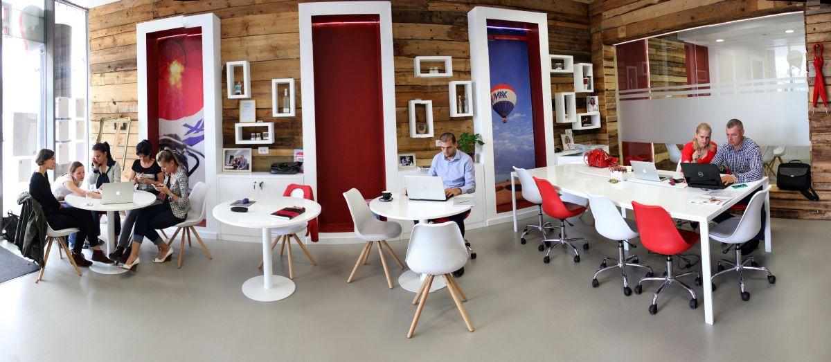Biroul Remax Concept din Cluj/Foto: Dan Bodea