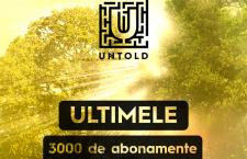 UNTOLD Festival. Mai sunt disponibile doar 3.000 de abonamente