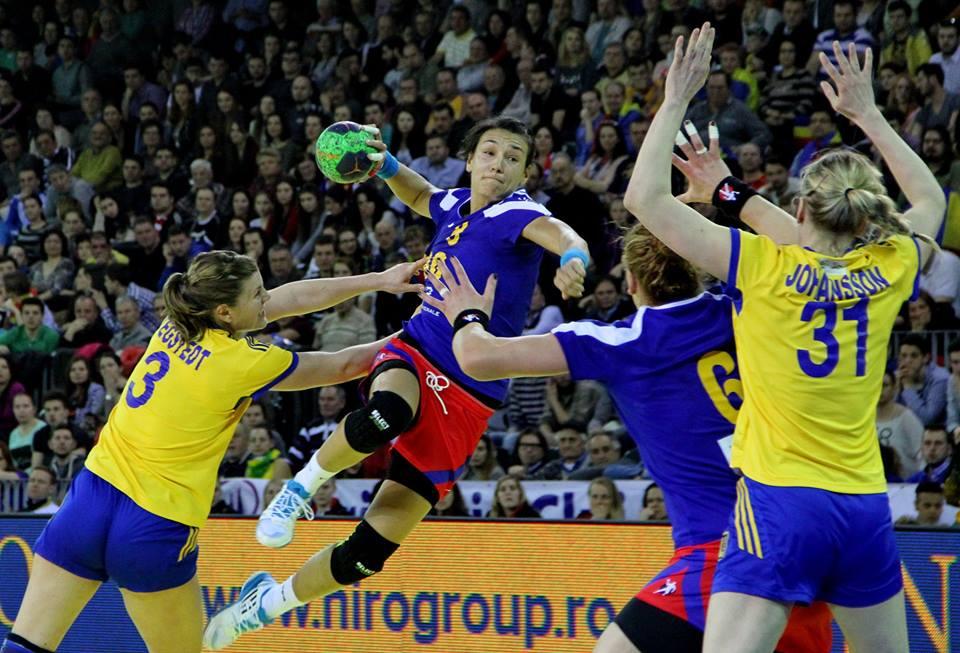 Echipa naţională feminină de handbal a României joacă, sâmbătă, în Serbia, manşa întâi din barajul de calificare la Cupa Mondială / Foto: Dan Bodea
