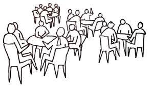 Întreaga piață va fi special amenajată pentru ca participanții să poată dialoga cu persoanele din domenii diferite de activitate.