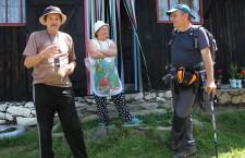 Dan Moisa în dialog cu strănepotul Fefeleagăi, David Gheorghe /Foto: Dan Bodea