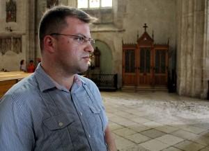 Orosz Krisztofer,   curatorul bisericii