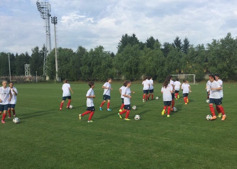 Zece junioare de la Olimpia Cluj au fost convocate la o acțiune a echipei naționale U17