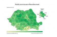 Cluj,   județul cu cea mai mare promovabilitate la BAC 2015 dar numai o medie de 10