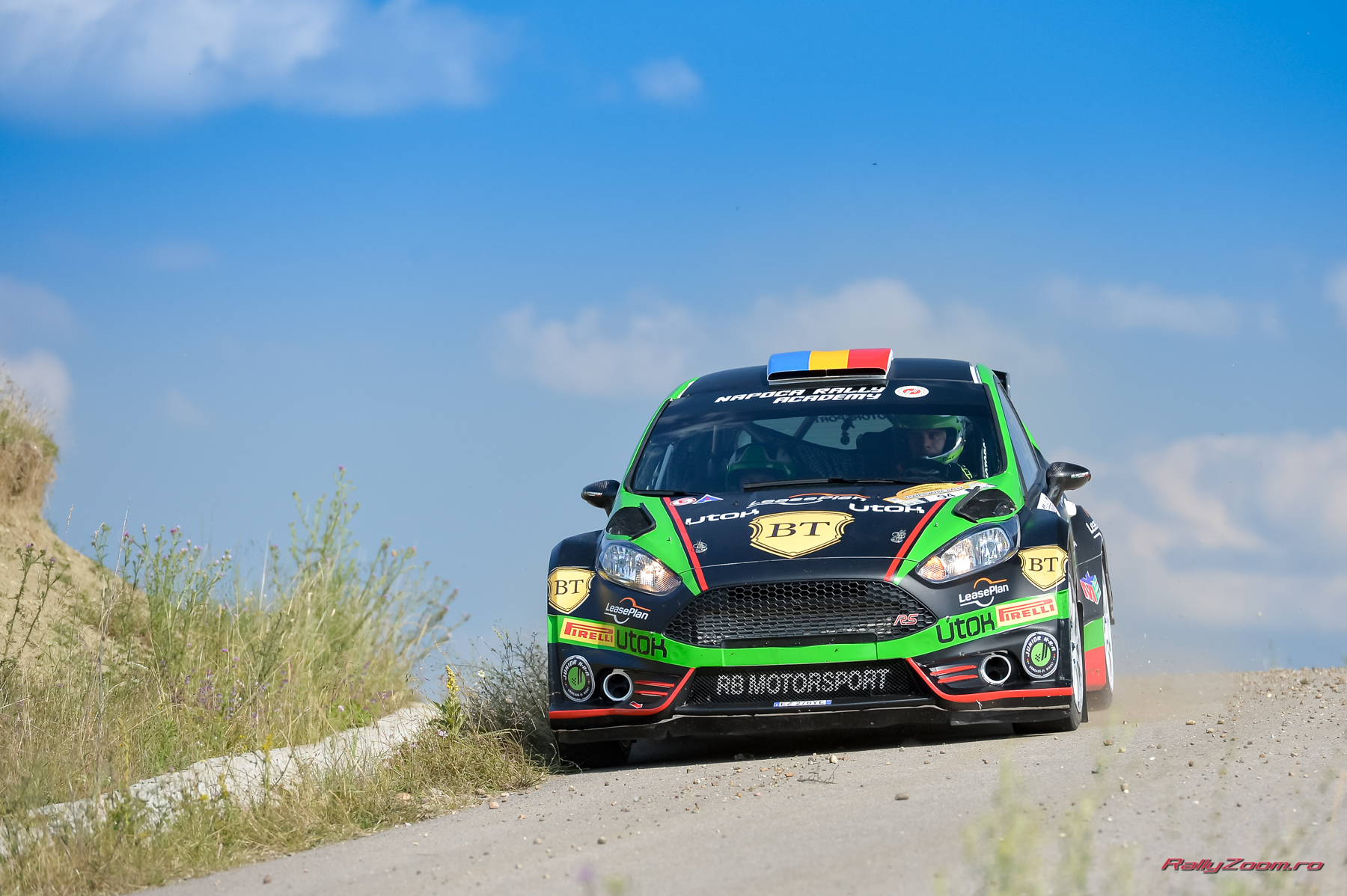 Simone Tempestini a triumfat la Cluj, în Transilvania Rally, obținând al patrulea succes consecutiv în Campionatul Național de Raliuri al României