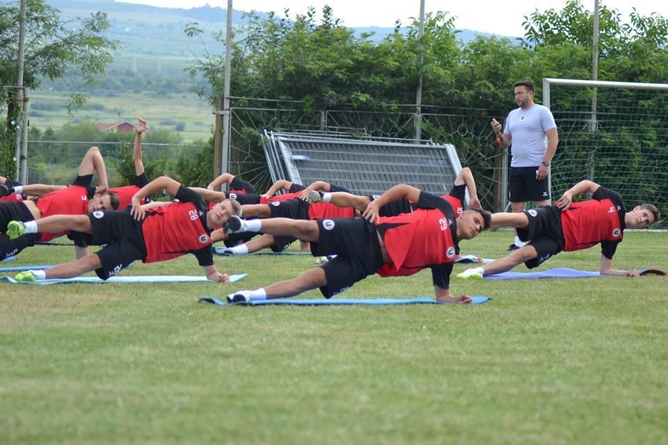 Noua echipă a Universității Cluj a demarat pregătirile pentru viitoarea ediție a Ligii a II-a