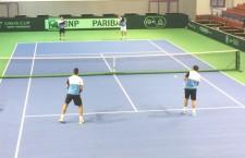 Deși pornea favorită în confruntarea cu Slovacia, echipa masculină de Cupa Davis a României a cedat în 4 meciuri confruntarea de la Mamaia