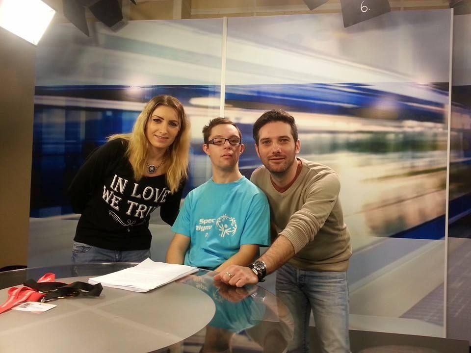 Miruna Pop,  Mihai Arsenie și Ovidiu Damian, o parte din echipa de realizatori a emisiunii Fără Prejudecăți/Foto: Arhiva personală