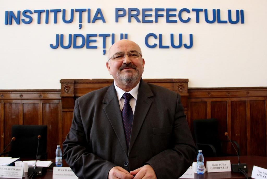 Prefectul Clujului, Gheorghe Vușcan / Foto: Dan Bodea