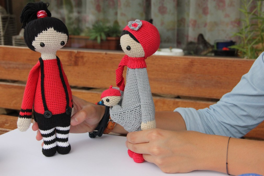 Păpușile Amy și Nina: Foto: Dan Bodea