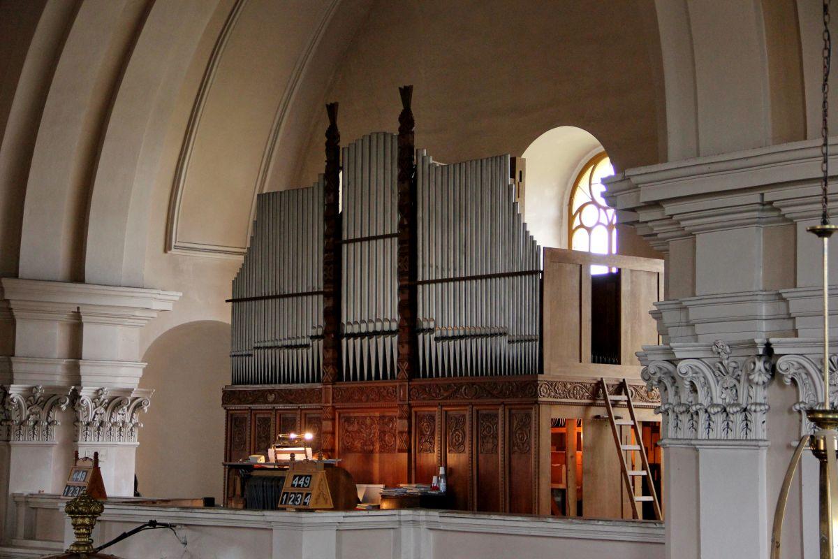 Orga din Biserica Reformată din Cluj-Oraşul de Jos/Foto: Dan Bodea