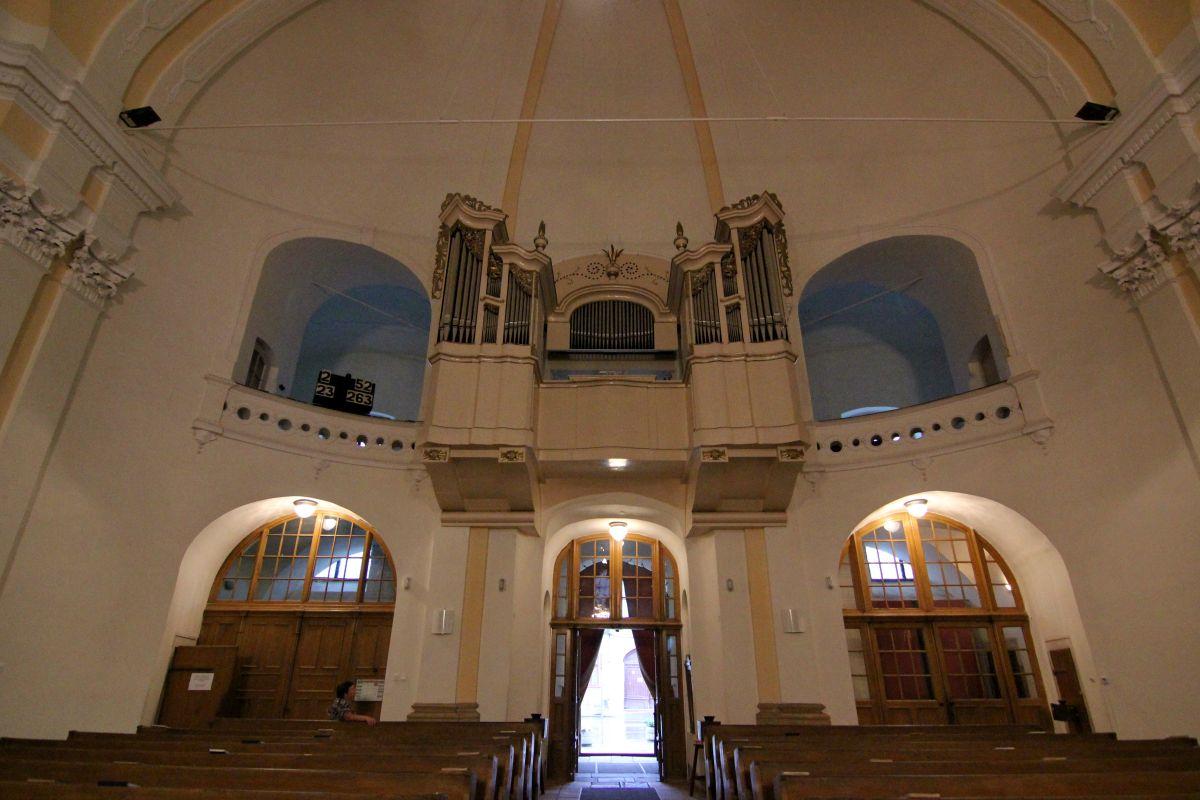 Orga din Biserica Unitariană/Foto: Dan Bodea