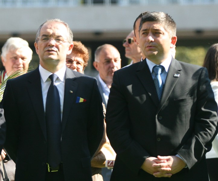 Emil Boc și Alin Tișe / Foto: Dan Bodea