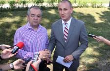 Emil Boc și Mihai Seplecan / Foto: Dan Bodea