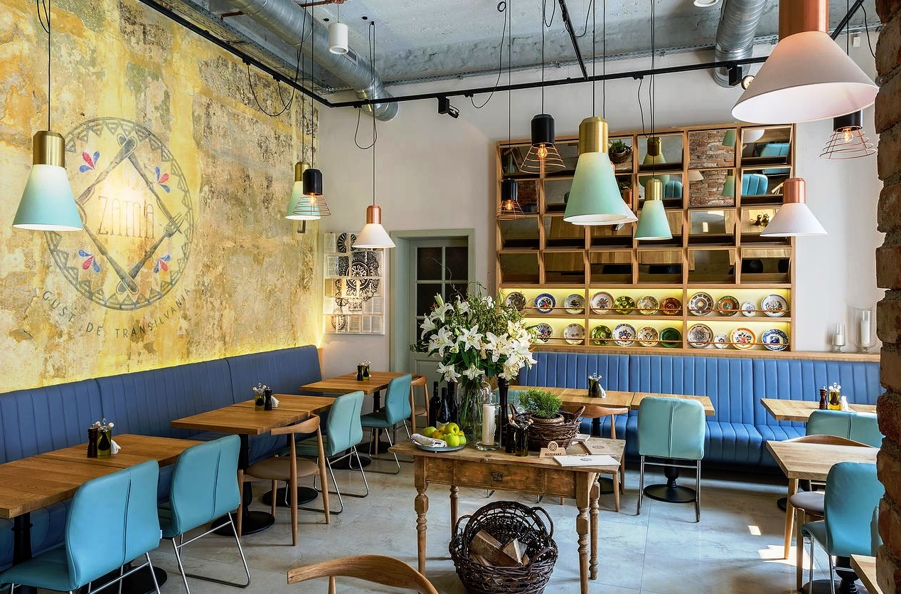 Restaurantul Zama / Foto: Dacian Groza