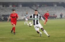 Fost golgheter al Universității Cluj,   Vali Lemnaru va juca în acest sezon la Petrolul / Foto: Dan Bodea