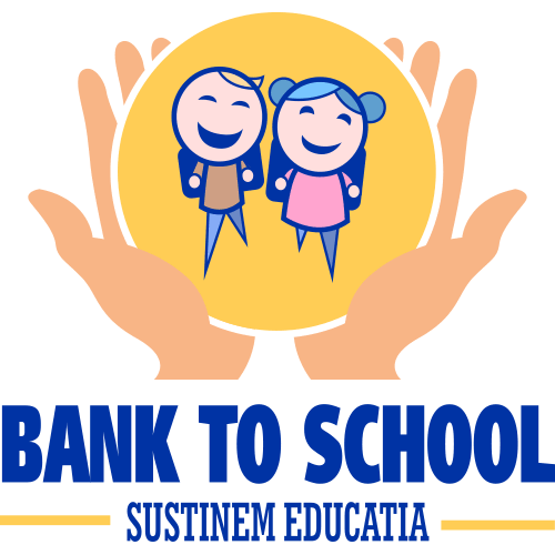 Logo Bank to School