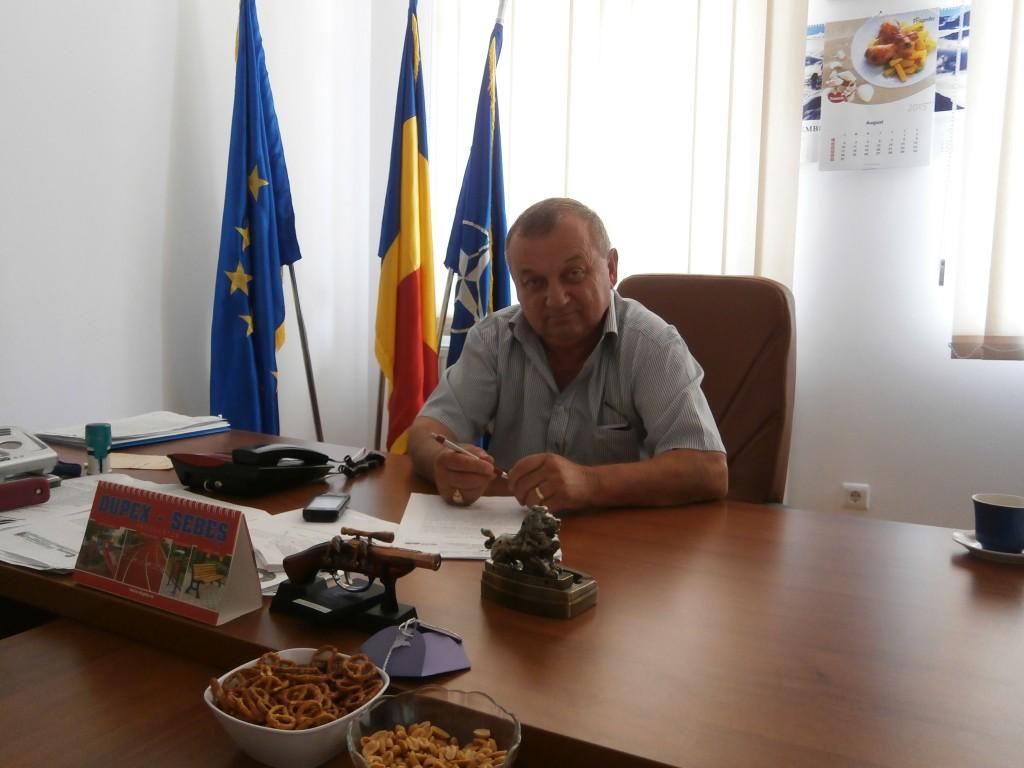 Primarul comunei Căianu,   Vasile Pop / Foto: Radu Hângănuț