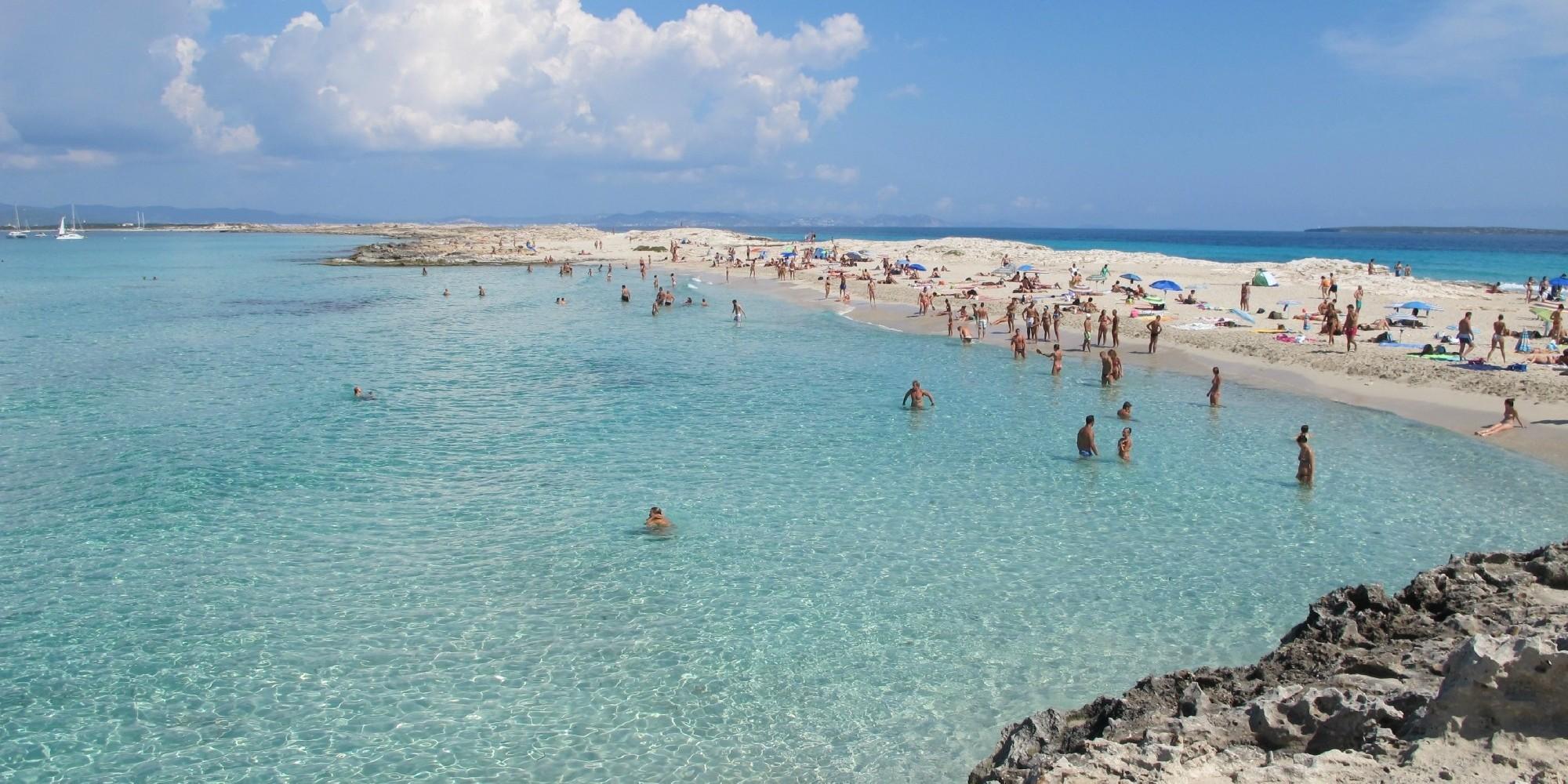 Playa de Ses Illetes,    Formentera (Ibiza) – Spania