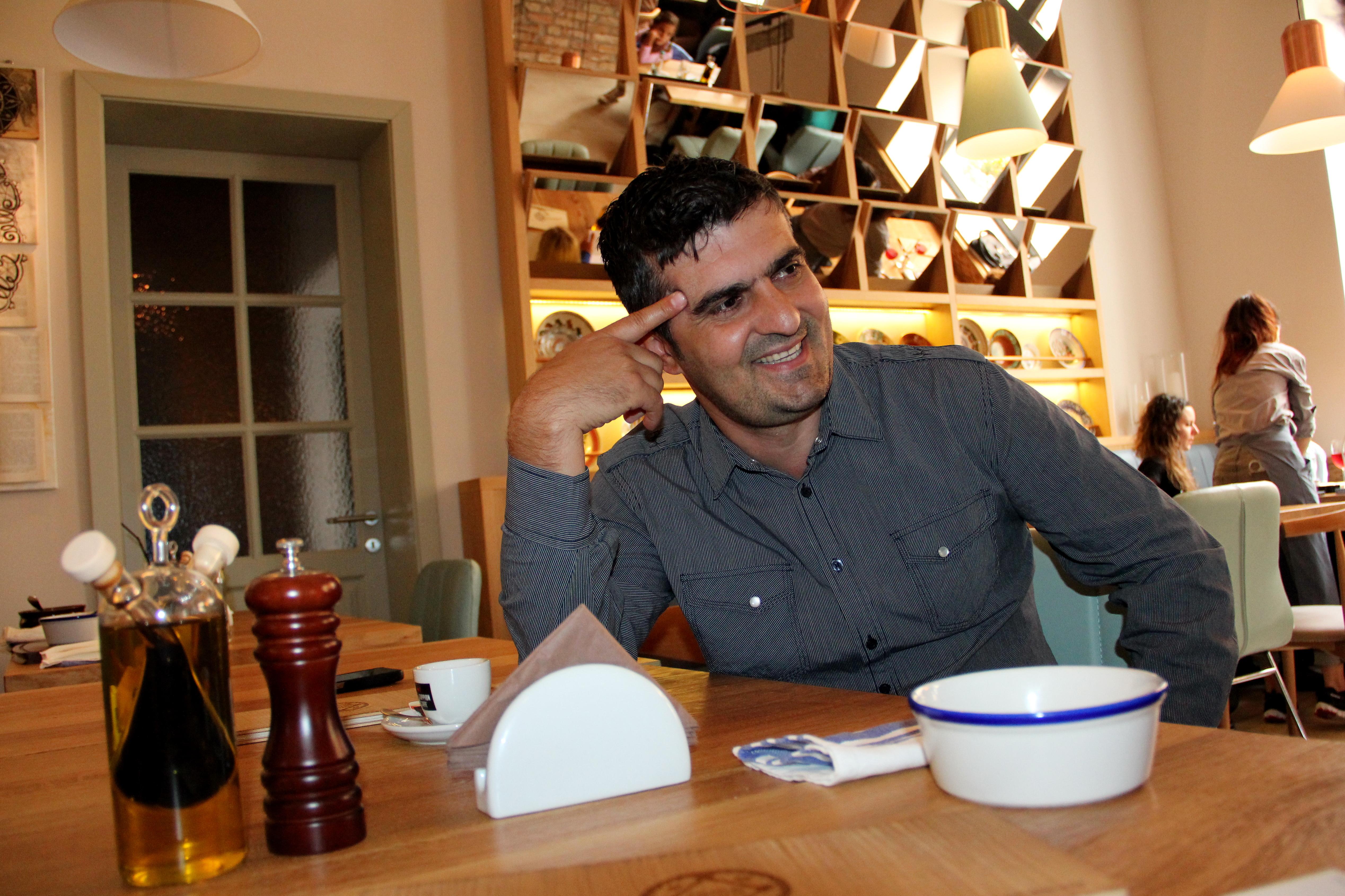 Șerban Petre, proprietarul localului / Foto: Dan Bodea
