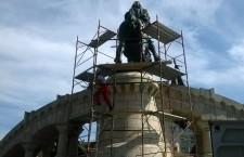Lucrările au fost finalizate astăzi în jurul orei 17:00 / Foto: Maria Man