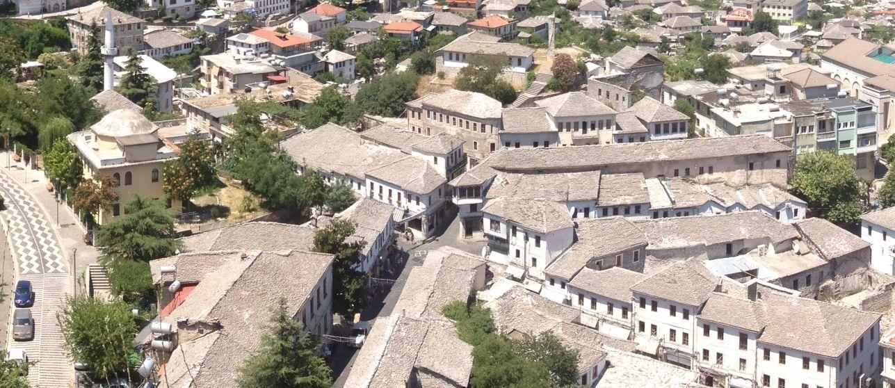 Acoperișurile din  Gjirokaster