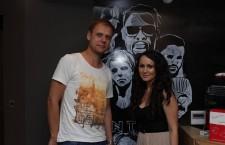 Armin van Buuren și Diana Hotca /  Foto: Alexandru Maxim