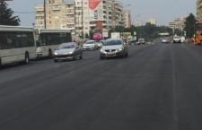 calea floresti asfalt proaspat